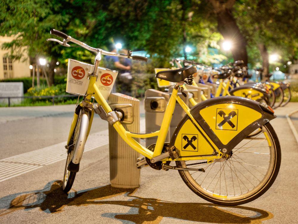 Citybike Wien: aktuell 116 Standorte mit 1400 Rädern (Foto: Gewista)