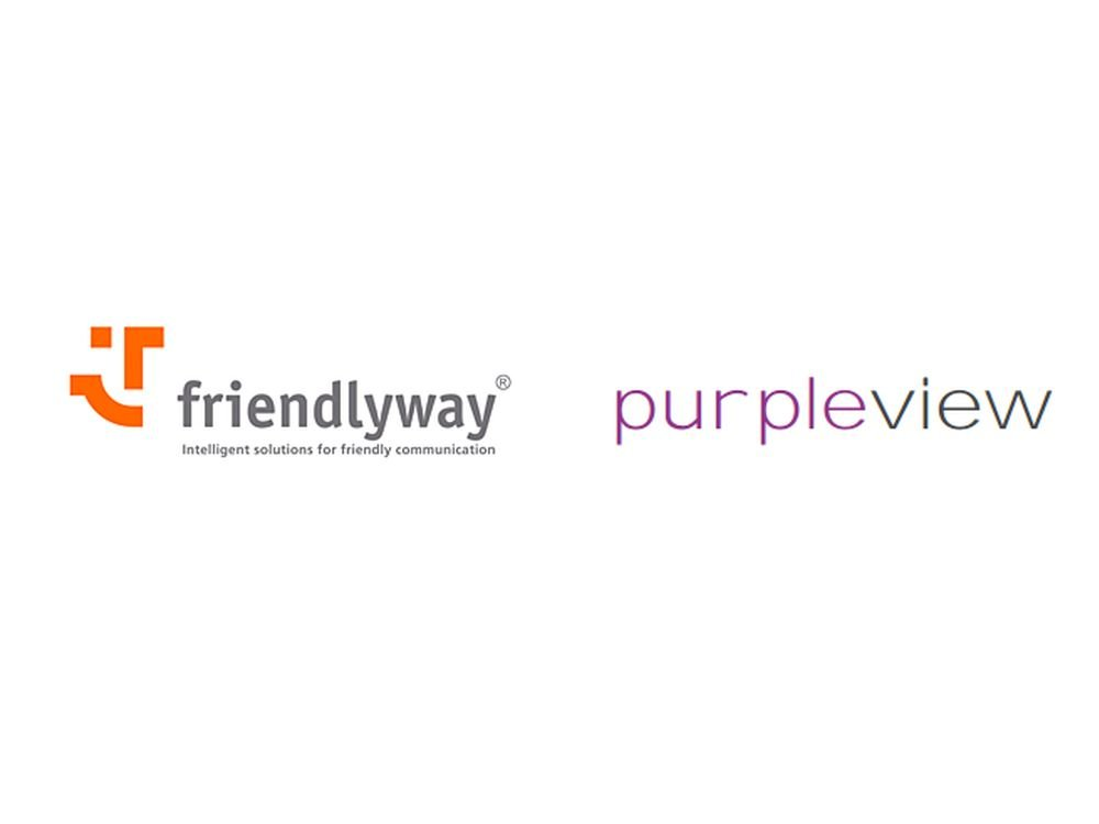 friendlyway und purpleview starten jetzt eine Kooperation (Grafiken: friendlyway, purpleview)