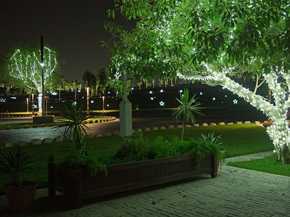 Beginn des Katar-Geschäfts: Installation zu den Asian Summer Games 2006 (Foto: Habegger)