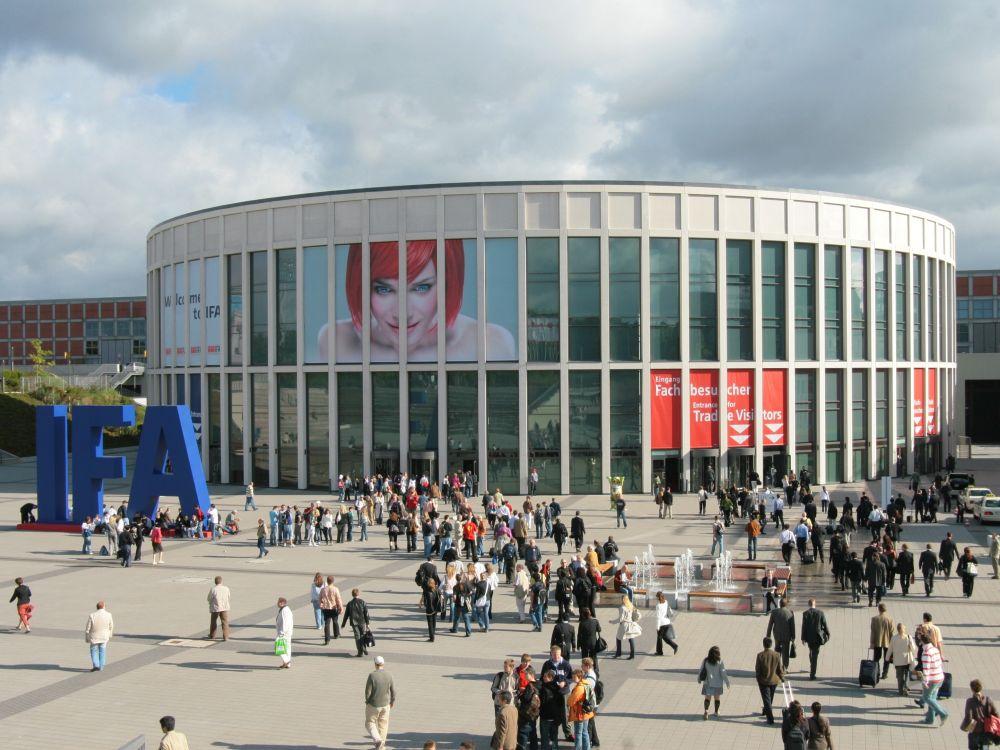 IFA 2014: Haupteingang Süd der Messe Berlin (Foto: Messe Berlin)