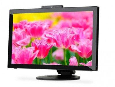 Mit dem E232WMT bringt NEC ein für den Einsatz im Handel optimiertes Touch-Modell (Foto: NEC USA)