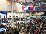 Auch bei Konzertveranstaltungen können sich die Besucher über ie LFDs gut orientieren (Foto: Samsung)