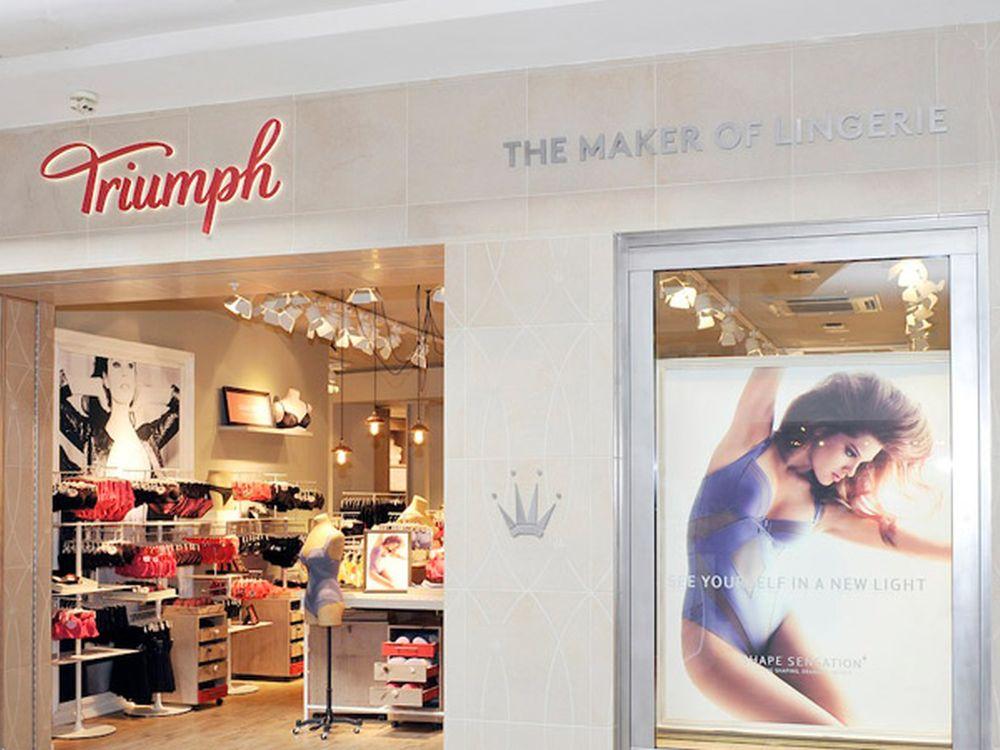 Triumph Store in der Bluewater Mall in UK (Foto: Triumph)