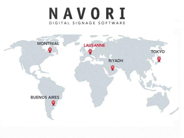 Die Schweizer Software-Firma Navori setzt auf den deutschen Markt