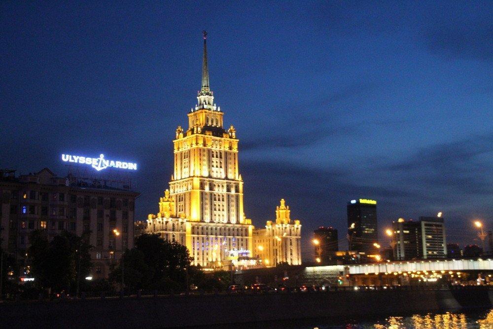 Moskau - Digital Signage Markt Russland
