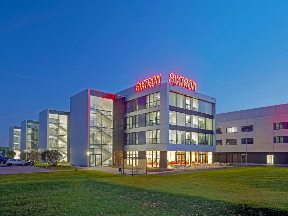 LED-Lighting im Aufwind: R&D und Produktion von Aixtron in Herzogenrath (Foto: Aixtron)