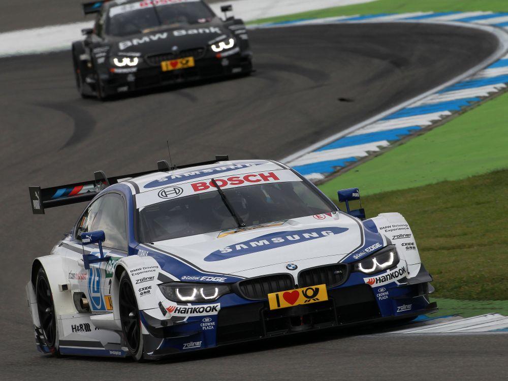 DTM-Start am Hockenheimring am 3. Mai mit dem BMW mit Pilot Martin (Foto: BMW Motorsport)