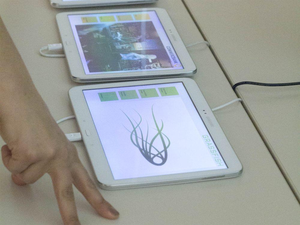 Grassfish-Case für die Commerzbank auf einem Tablet (Foto: Grassfish)