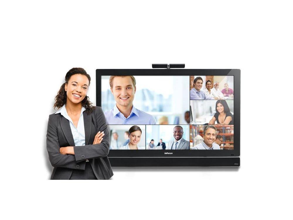 Mit ConX und 1:1 SIP Video Calling erweitert der Hersteller sein Portfolio (Foto: inFocus)