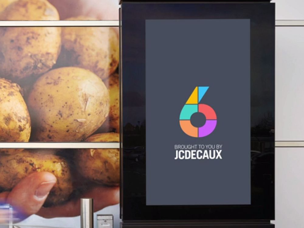 Im April 2014 launchte JCDecaux UK das neue nationale Netzwerk Channel 6 mit 1.400 Screens (Foto: Screenshot: invidis.de)