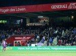 """""""Vollgas geben"""" - so motivierte mancher Fans seine Mannschaft (Foto: Serviceplan)"""