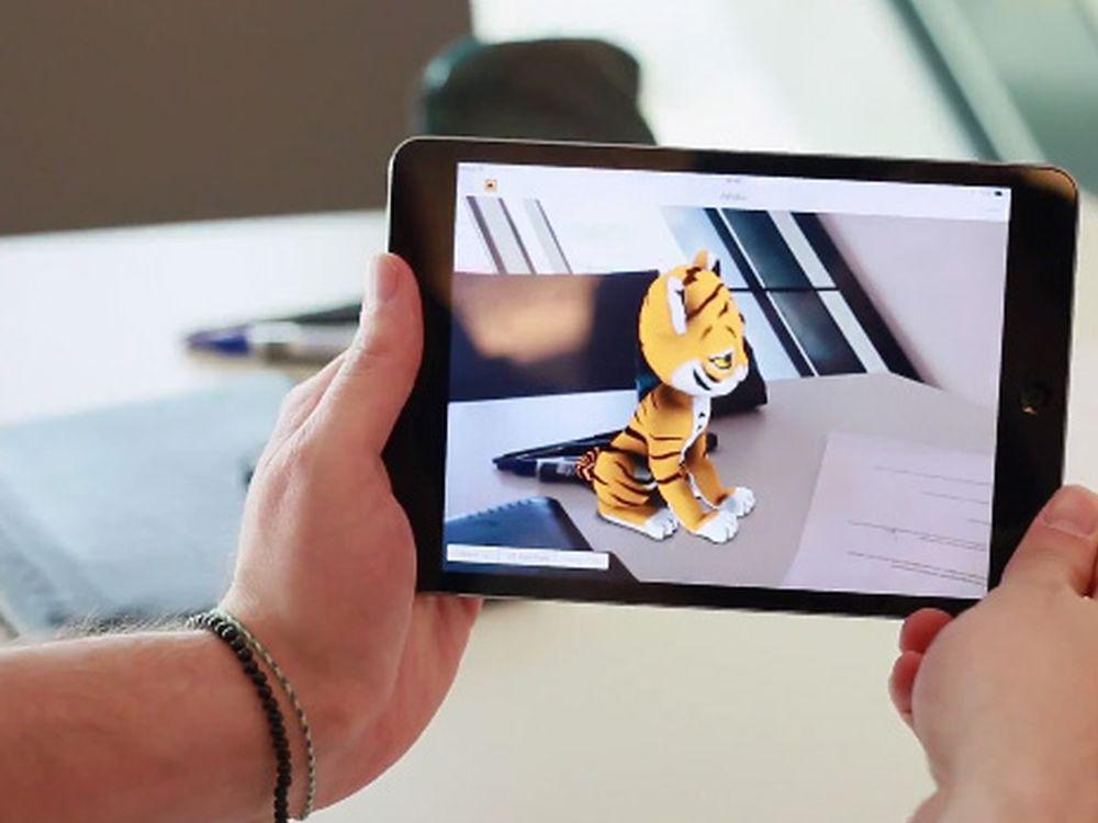Kinderspielzeug und Spiele mit Augmented Reality: Ideen gesucht (Foto: Metaio)