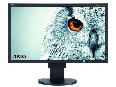 Viele Pixel, jede Menge Farben: NECs neues Display EA244UHD (Foto: NEC)