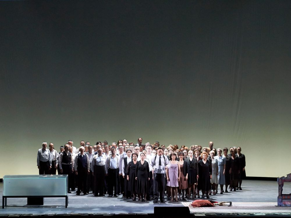 Ging live via UHD: Nabucco-Inszenierung mit Plácido Domingo (Foto: Wiener Staatsoper)