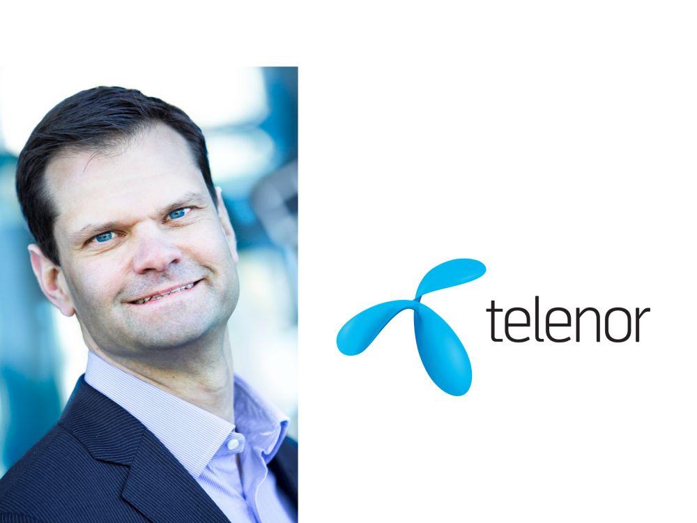 Der vormalige Clear Channel- und NEC-Manager führtab Sommer die schwedische Landesgesellschaft (Foto/ Grafik: Telenor)