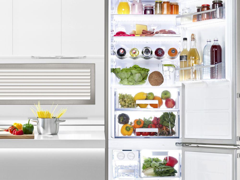 Synios E4014 und weiße Ware: Einsatz im Kühlschrank (Foto: Osram Opto Semiconductors)