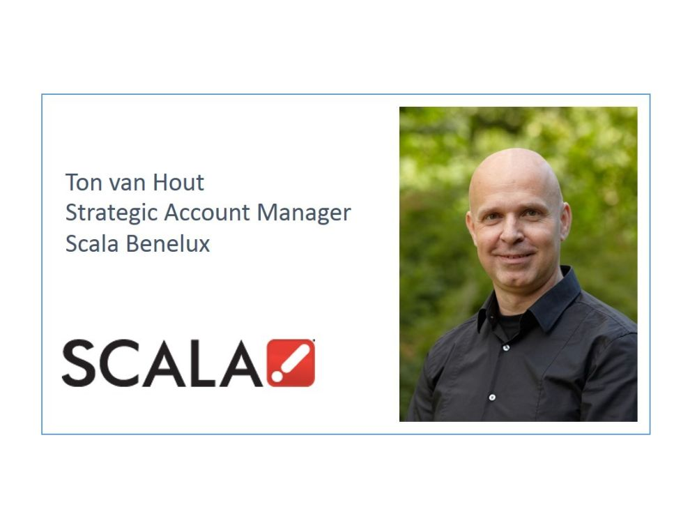 Strategic Account Manager Benelux bei Scala: Ton van Hout (Foto: Scala)