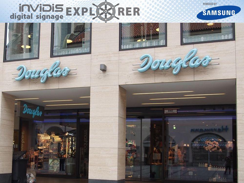 So sollte ein Mega Store aussehen: Douglas Mega Store in München (Quelle: invidis.de)