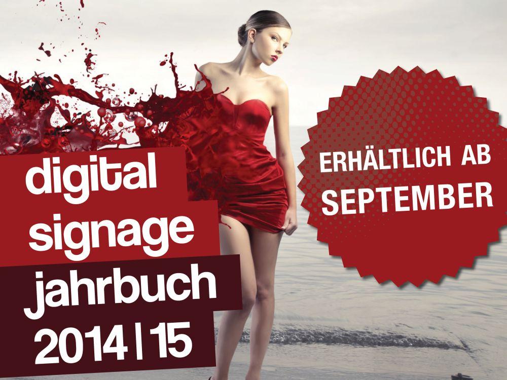 """Das """"invidis Digital Signage Jahrbuch 2014/2015"""" erscheint im September"""