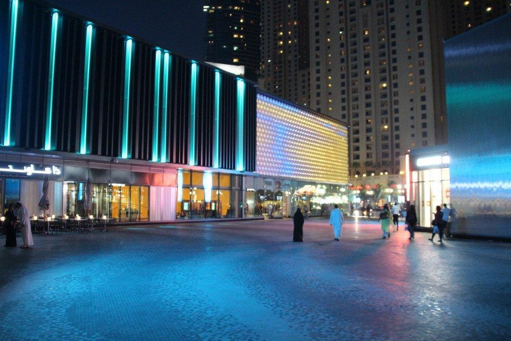 Cinema and LED facade