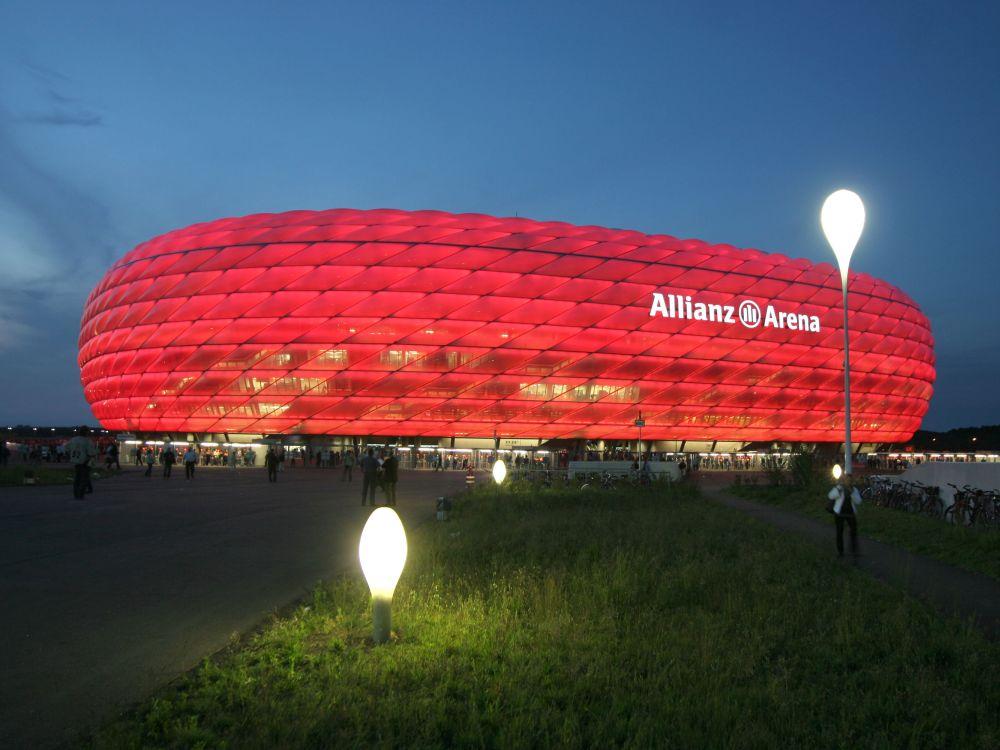 In der Allianz Arena geht es Anfang Juli um Digital Signage (Foto: Allianz Arena)