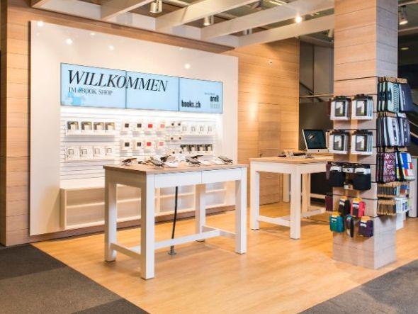 Umsetzung für die Schweizer Buchhandelskette Orell Füssli (Foto: Bison IT)