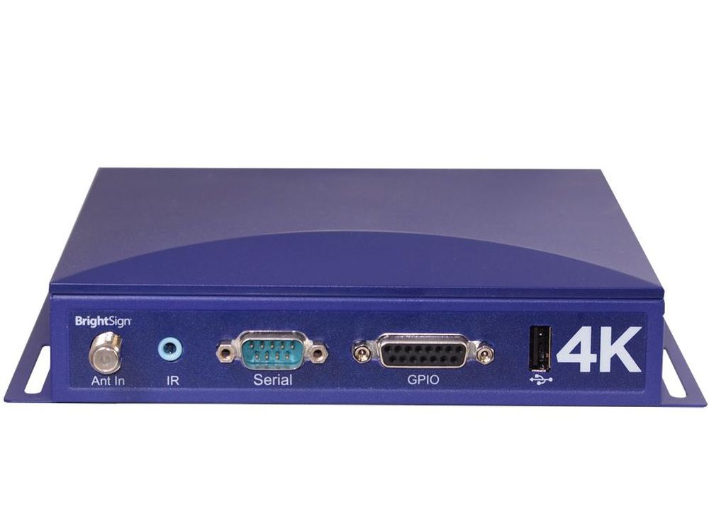 BrightSign: 4K-SSD-Mediaplayer (Foto: BrightSign)