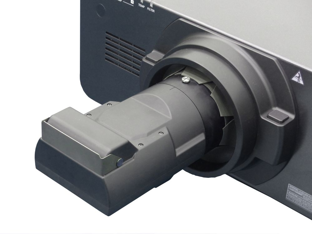 Mit dem ET-D75LE90 sind Projektoren für den Ultra Short Throw-Einsatz geeignet(Foto: Panasonic)