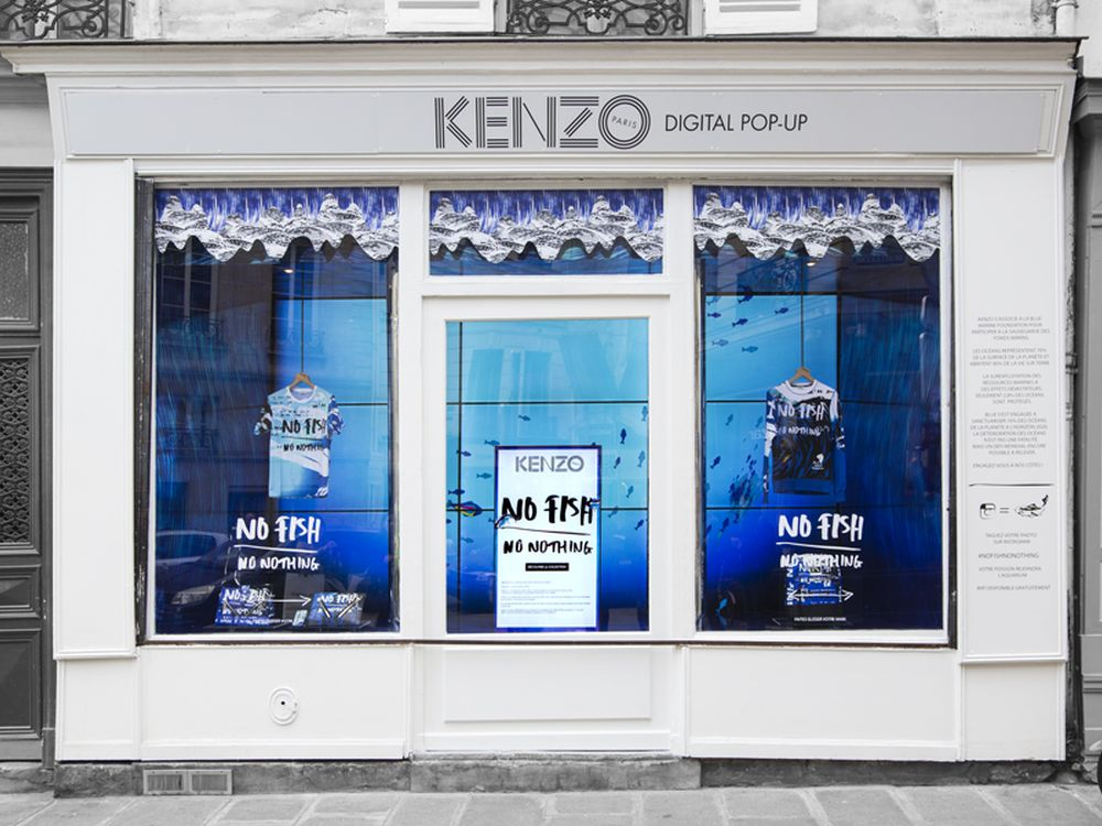 Kenzos Digital Pop Up Store in Paris (Foto: Kenzo)