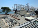 ...für eine spektakuläre OoH-Installation -  Aufbau im Juni (Foto: Le Grand Hôtel Cannes)