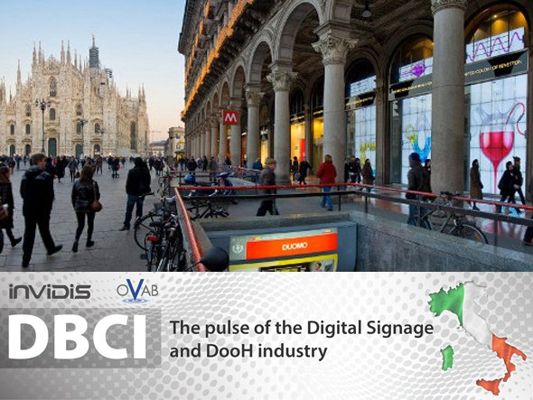 Slow recovery for Digital Signage in Italy