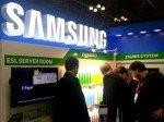 Samsung-Messestand mit ESLs (Foto: SEMCO)