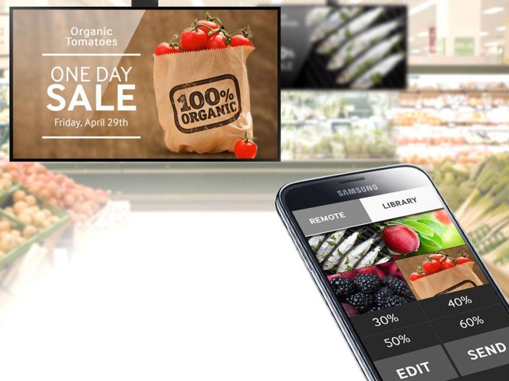 Ansteuerung via Smartphone: Bei SoC 2.0 sind 2 Modelle der D-Serie WiFi-fähig (Foto: Samsung)