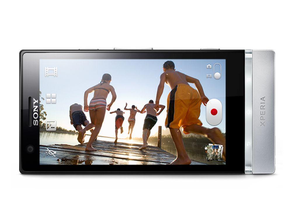 "Sonys Xperia P mit 4"" großem White Magic-Panel von JDI (Foto: Sony)"