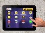 ad pad Tablet-Screen des neuen Netzwerks (Screenshot: invidis.de)