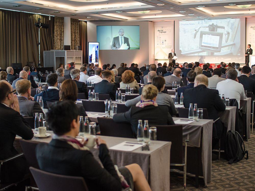 Blick in den Vortragsraum während der letztjährigen Konferenz
