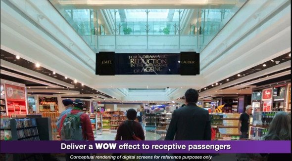 JC Decaux Dynamic DooH at DXB