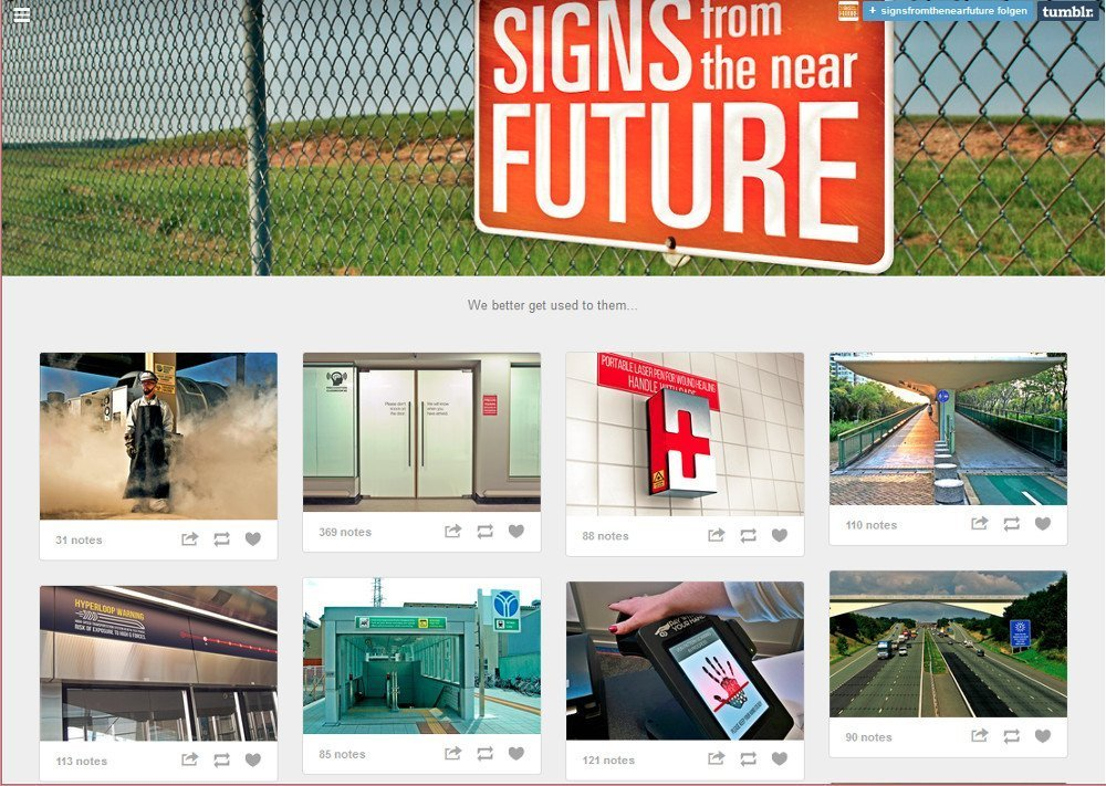 Signs of the Future (Screenshot)