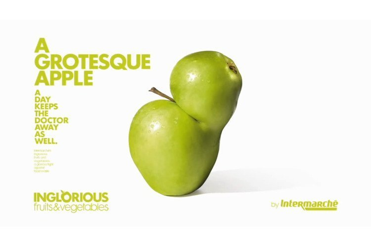 Food-Retail: Creative Campaigns - Inglorious Fruits by Intermarche