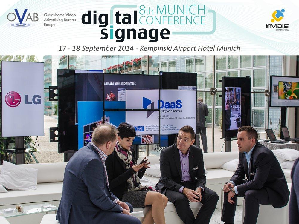 LG stellt erneut auf der OVAB Digital Signage Conference Munich aus (Bild: invidis)