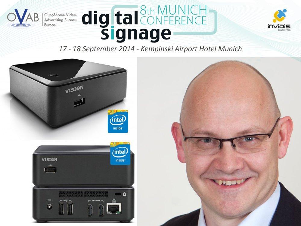 Erstmals Gold-Aussteller auf der OVAB <b>Digital Signage</b> Conference Munich: <b>...</b> - Digital-Signage-Conference-Munich-2014-Maverick