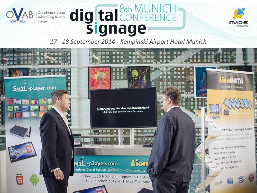 itworx erneut auf der OVAB Digital Signage Conference Munich (Bild: invidis)