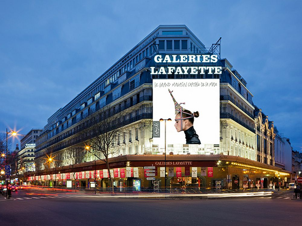 Galeries Lafayette am Boulevard Haussmann (Foto: Group Galeries Lafayette)