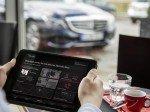 Medienübergreifendes Konzept: Mercedes me auf dem Tablet (Foto: Daimler AG)