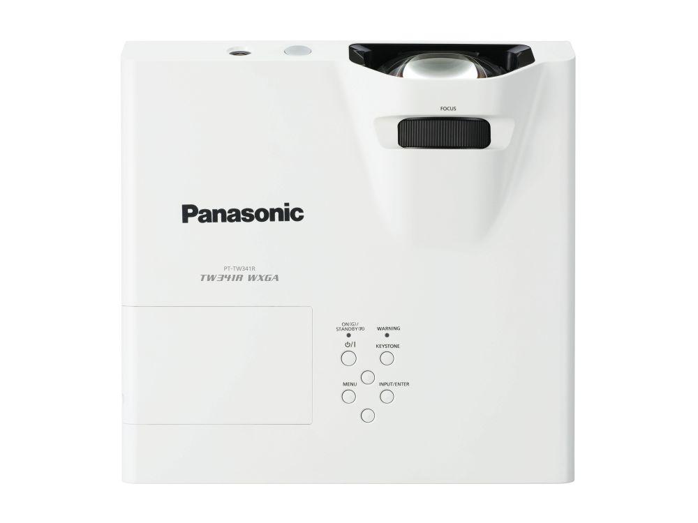 Der Panasonic-Projektor PT-TW341R bringt es auf eine Helligkeit von 3.200 lm (Foto: Panasonic)