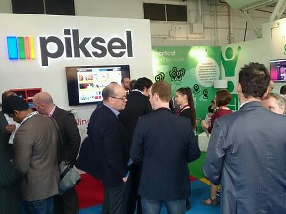 Piksel-Stand auf der TV Connect 2014 (Foto: Piksel)