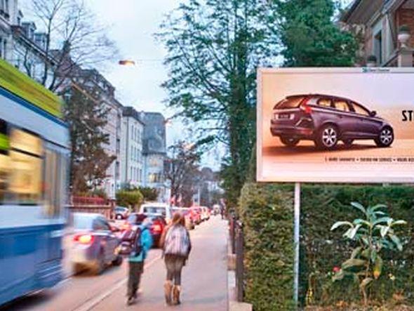 Clear Channel verfügt schweizweit über 20.000 Plakatstellen (Clear Channel Schweiz )