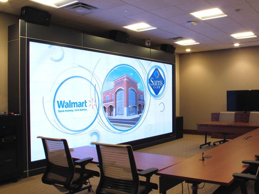 Prysm Video Wall für den Retail-Dienstleister Crossmark (Foto: Prysm)