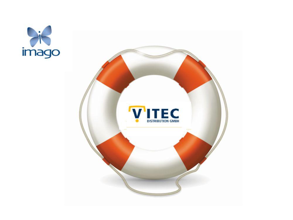 Imago wirft Rettungsring für Vitec aus (Grafiken: Unternehmen; Montage: invidis.de)