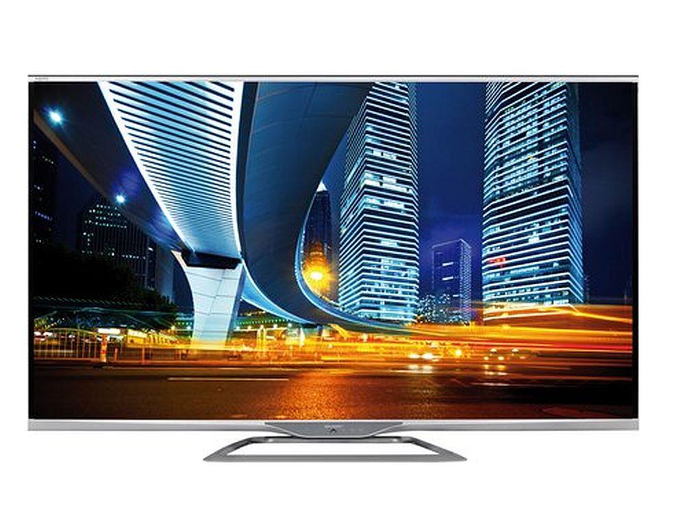 Kommt bald wohl von TPV: Sharp-TV AQUOS LED TV LC-60LE752 (Foto: Sharp)